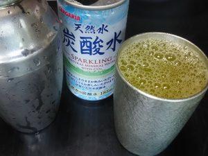 オレンジジュースのカクテル