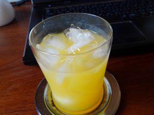 半島オレンジジュース焼酎割り