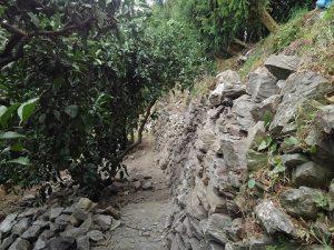 石垣の勾配
