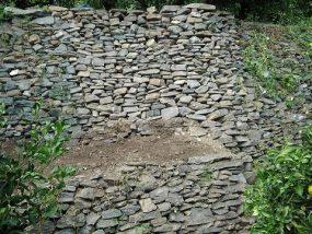 石垣の補修